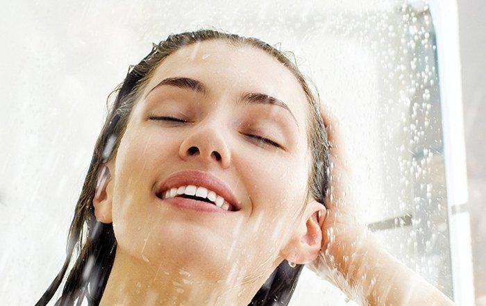 doccia dopo sport